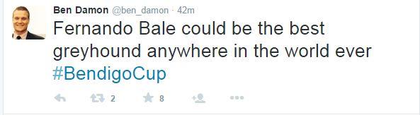 Ben Damon tweet